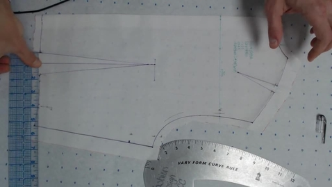 Thumbnail for entry Draping - Truing Bodice Sloper Back Part 2