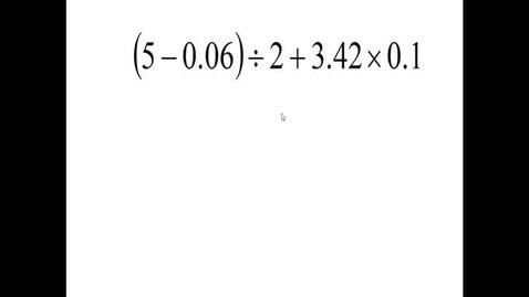 Thumbnail for entry Prealgebra 5.4.11