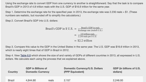 Thumbnail for entry Converting GDP to a Common Currency