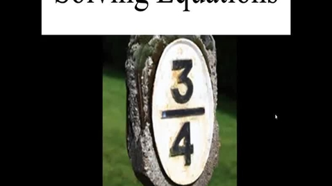 Thumbnail for entry Prealgebra 4.4.1
