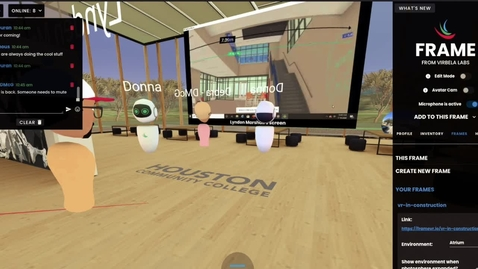 Thumbnail for entry VR in Construction Open House 7.18.2020