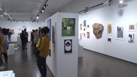Thumbnail for entry SW Juried Student Exhibition Fall 2019 | HCC Beat