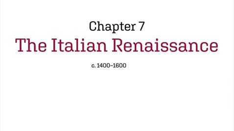 Thumbnail for entry Fashion History / The Italian Renaissance / c.1400-1600