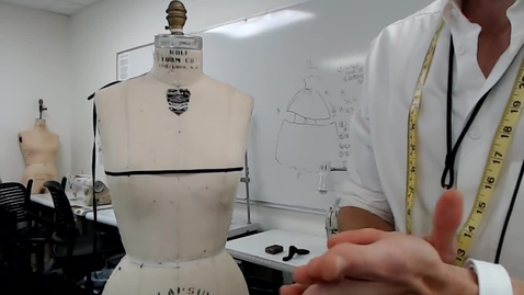 Thumbnail for entry Draping - Cowl Mannequin Prep