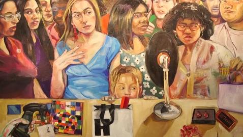 Thumbnail for entry Darla Barolini Lawrence Exhibition | Spring Branch