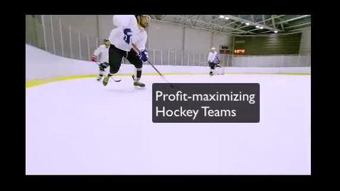 Thumbnail for entry Profit Maximizing hockey teams