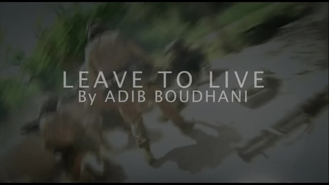 Thumbnail for entry Leave to Live