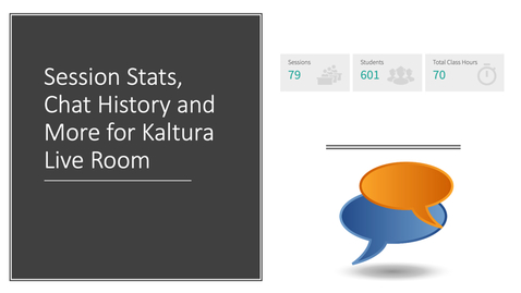 Thumbnail for entry Smart New Row and Session Stats for Kaltura Live Room