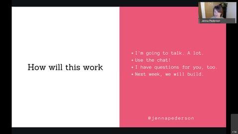 Thumbnail for entry AWS Web Development - Jenna Pederson