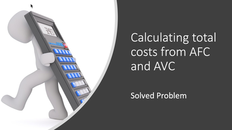 Thumbnail for entry Calculating TC from AFC and AVC