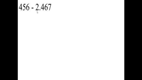 Thumbnail for entry Prealgebra 5.2.6