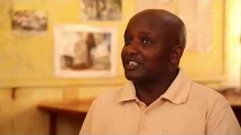 Thumbnail for entry HCC Alumnus & Entrepreneur Gilbert Sabinga contributes to Home Community.