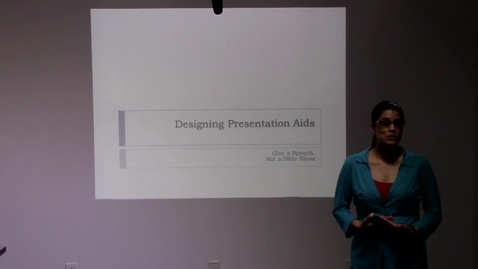 Thumbnail for entry Prof. Millis and Salisbury Workshop on the Do's and Don't of PowerPoint