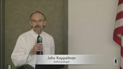 Thumbnail for entry John Kappelman (Anthropologist) at the REEL
