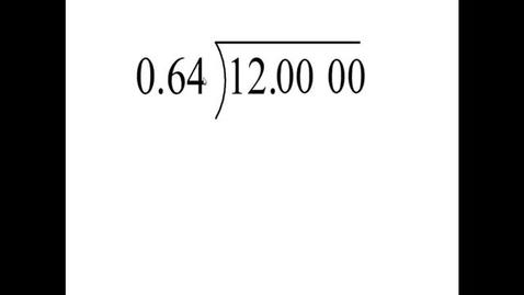 Thumbnail for entry Prealgebra 5.4.6