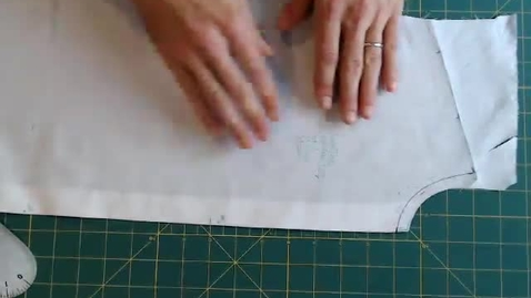 Thumbnail for entry Draping - Truing Darted Torso Front
