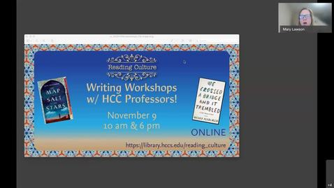Thumbnail for entry Writing Workshop-20201109 10am