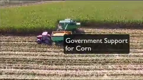 Thumbnail for entry Government Support for Corn