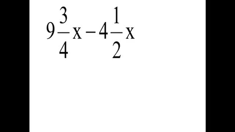 Thumbnail for entry Prealgebra 4.6.8
