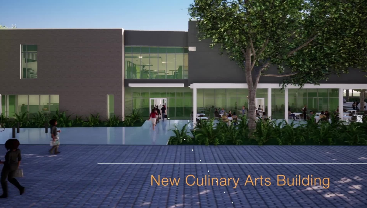 Tour of New Culinary Arts Building