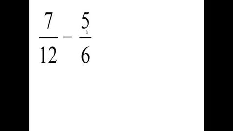 Thumbnail for entry Prealgebra 4.3.6