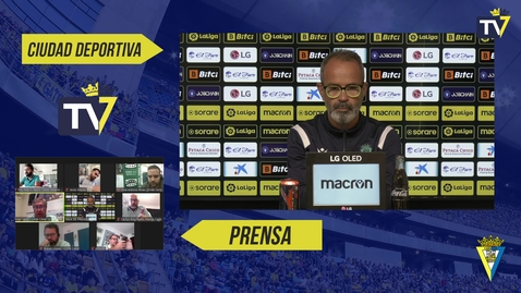 Miniatura para la entrada Rueda de prensa de Álvaro Cervera en previa Espanyol-Cádiz (15/10/21)