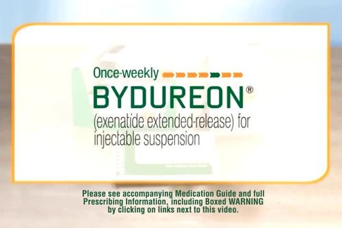 Watch a step-by-step video on how to use the BYDUREON Single-dose Tray