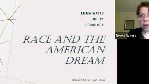 Thumbnail for entry Race and the American Dream