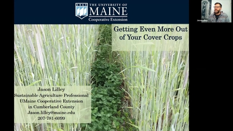 Thumbnail for entry Getting Even More Out of Your Cover Crops - Vegetable & Fruit