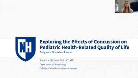 Thumbnail for entry Exploring the Effects of Concussion on Pediatric Health-Related Quality of Life