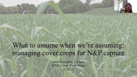 Thumbnail for entry Getting Even More Out of Your Cover Crops - Dairy & Livestock