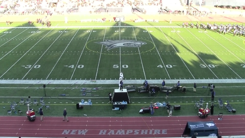 Thumbnail for entry UNH Wildcat Marching Band Halftime Show November 23, 2019