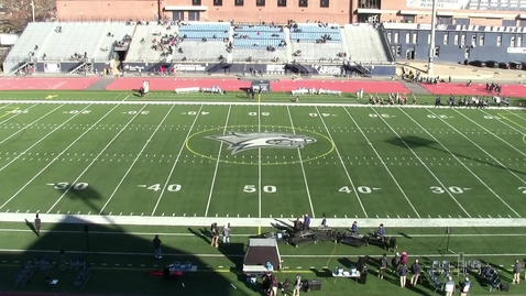 Thumbnail for entry UNH Wildcat Marching Band Pregame Show November 23, 2019