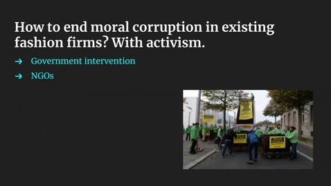 Thumbnail for entry Fixing Fast Fashion: Addressing Externalities and Upkeeping Assets in Latin America's Largest Counterfeit Market