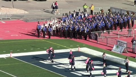 Thumbnail for entry UNH Wildcat Marching Band Pregame Show October 20, 2018