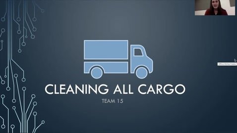 Thumbnail for entry Straight Off The Couch (Team 15): Cleaning All Cargo