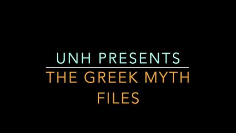 Thumbnail for entry Student Interviews: Greek Myth Podcast