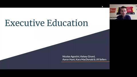 Thumbnail for entry Paul: Executive Education