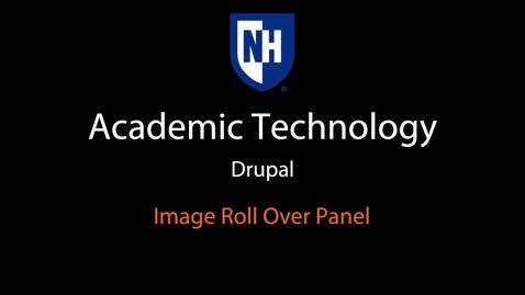 Thumbnail for entry Drupal: Image Rollover Panel