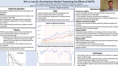 Thumbnail for entry ECON-BA Win or Loss for the American Worker? Examining the Effects of NAFTA