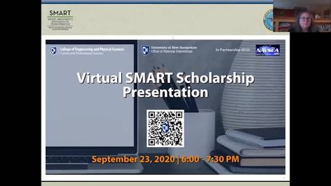Thumbnail for entry Virtual SMART Scholarship Presentation
