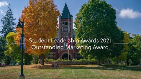Thumbnail for entry Outstanding Marketing Award