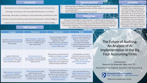 Thumbnail for entry HONORS.The-Future-of-Auditing:-An-Analysis-of-AI-Implementation-in-the-Big-Four-Accounting-Firms