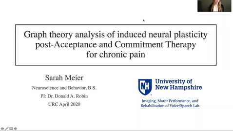 Thumbnail for entry Graph theory analysis of induced neural plasticity post-Acceptance and Commitment Therapy for chronic pain