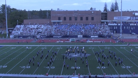 Thumbnail for entry UNH Wildcat Marching Band Halftime Show October 16, 2021
