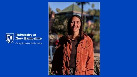 Thumbnail for entry Meet Alena Klimas, Master in Community Development Student
