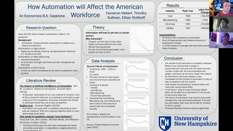 Thumbnail for entry How Automation will Affect the American Workforce