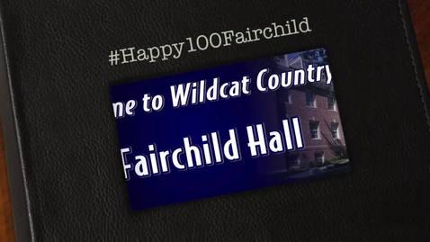 Thumbnail for entry Happy 100th Birthday Fairchild Hall!
