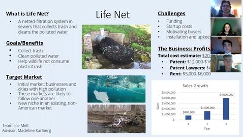 Thumbnail for entry ICE MELT (Team 16): Life Net