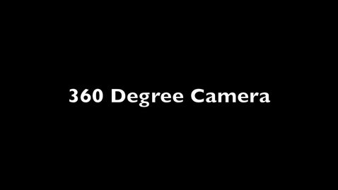 Thumbnail for entry 360 Camera at the PML